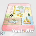 Бебешки одеяла - Дино