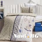 Бебешко спално бельо-Бамбук - Palmi Lacivert