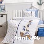 Бебешко спално бельо-Бамбук - Sailors