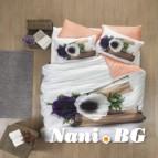 3D Спално бельо памучен сатен - БОЖУР