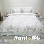 Спално бельо памук щампа - Олимпия