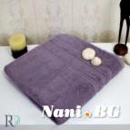 Хавлиени кърпи Елица - тъмно лила