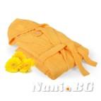 Халат за баня Класик - жълто