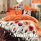 Спално бельо Аманда Оранжев