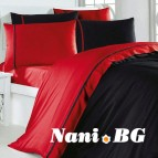 Двоен спален комплект Kirmizi siyah
