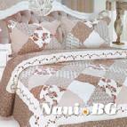 Кувертюра к-кт с две декоративни калъфки - 224