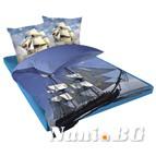 Единичен спален комплект Кораб