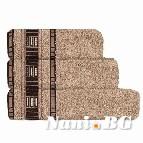 Хавлиени кърпи Атина 450 гр - бежаво