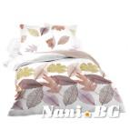 Спално бельо памучен сатен - Листа