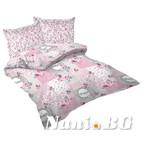 Спално бельо Ретро розово БДЧ