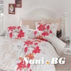 Спално бельо от лимитирана колекция - Evelin Orange