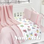 Бебешко спално бельо-Бамбук - Animals