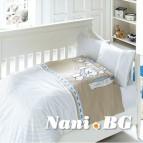Бебешко спално бельо-Бамбук - Baby Blue