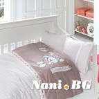 Бебешко спално бельо-Бамбук - Baby Pudra