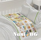 Бебешко спално бельо-Бамбук - Crazy Eggs