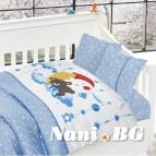Бебешко спално бельо-Бамбук - Sleeper Blue