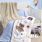 Бебешко спално бельо с одеяло бамбук - Joy