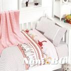 Бебешко спално бельо с одеяло бамбук - Ginny Pudra