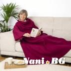 Одеяло с ръкави 180 x 140