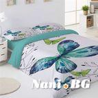 Спално бельо дигиталния печат - Пеперуда