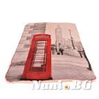 Одеяло пано дабъл фейс - Биг Бен