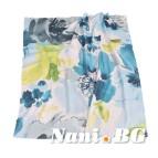 Одеяло полар печат - Акварел зелено