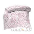 Плик - Торба - цветя розови