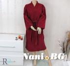 Халат за баня Ивон - бордо