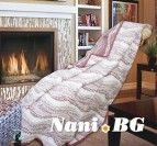 Одеяло памук - Житен клас пепел