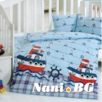 Бебешки к-т с олекотена завивка - Кораби