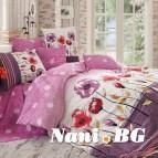 Комплект с олекотена завивка - Аманда лилав
