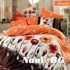 Комплект с олекотена завивка - Аманда оранж