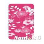 Долен чаршаф щампа - Кокона розова