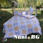 Спално бельо памук щампа - Мариета