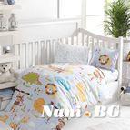 Бебешко спално бельо - Зоо