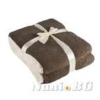 Одеяло Маджестик - кафяво