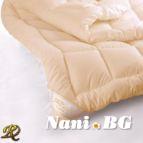 Зимна памучна завивка - праскова
