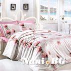 Спално бельо LEORA PEMBE