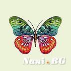 Декоративни възглавници - Пеперуда