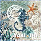 Декоративни възглавници - Морско конче