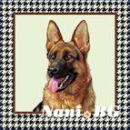 Декоративни възглавници - Овчарско куче