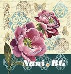 Декоративни възглавници - цветя II