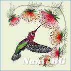 Декоративни възглавници - колибри