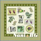Декоративни възглавници - маслинови клончета