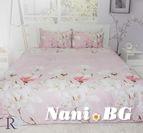 Спално бельо памучен сатен Антония
