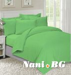 Спално бельо Зелено