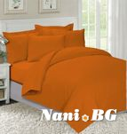 Спално бельо Оранжево