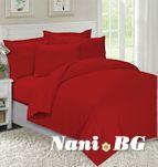 Спално бельо Червено