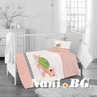 Бебешко спално бельо - костенурка