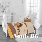 Бебешко спално бельо - таралеж